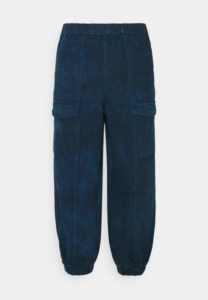 LADIES TROUSERS - Trousers - blue tie dye