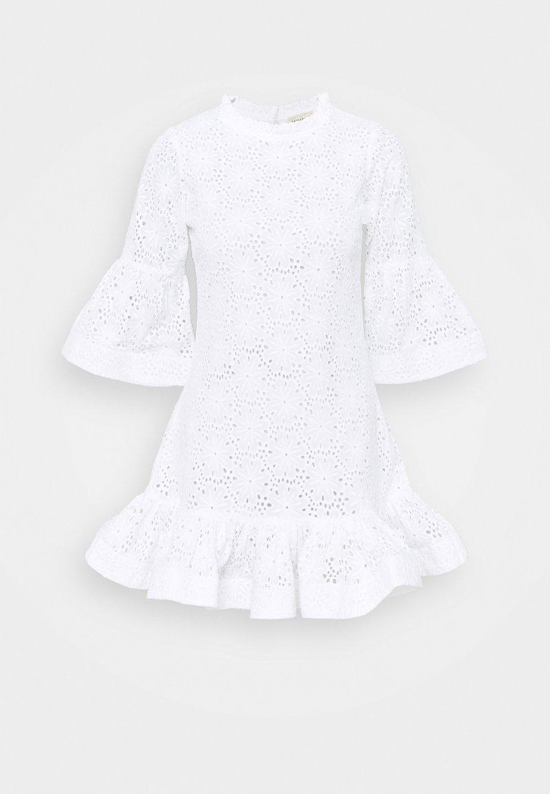 Lace & Beads - ESMERELDA DRESS - Day dress - white