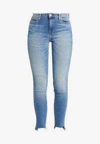 Tommy Jeans - NORA MID RISE ANKLE - Skinny džíny - blue denim - 4