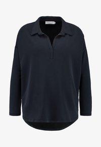 Lounge Nine - REMIIE BLOUSE - Poloshirt - dark grey - 4