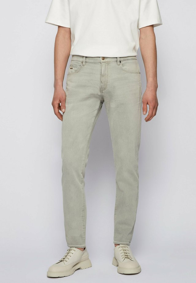 KEITH - Jeans Tapered Fit - open grey