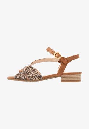 Sandaler - camel/natur