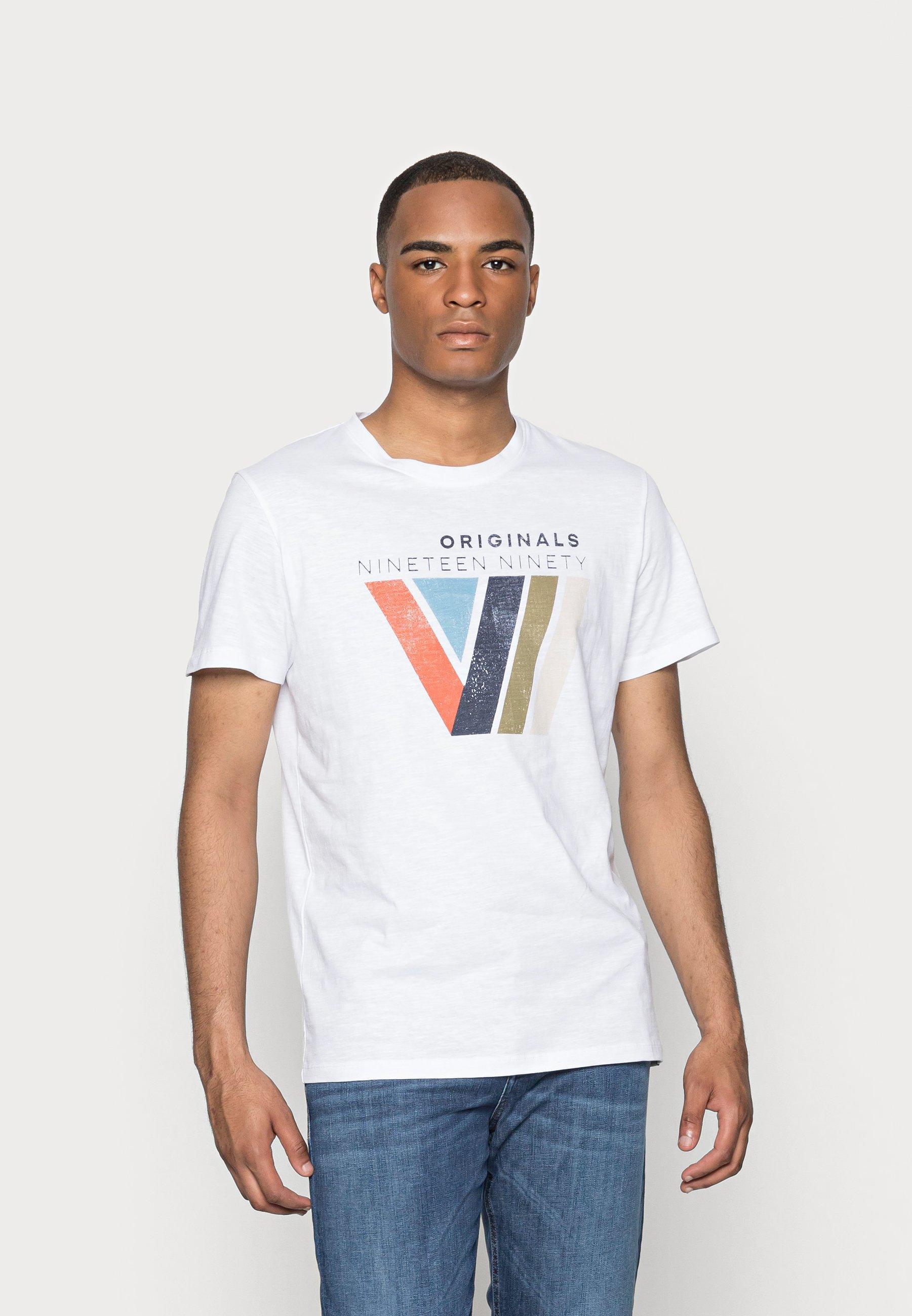 Men JORNEWPORT TEE CREW NECK - Print T-shirt
