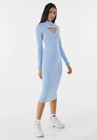 Bershka - Shift dress - light blue - 1