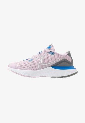 RENEW RUN UNISEX - Neutral running shoes - iced lilac/white/smoke grey/light smoke grey/soar
