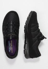 Skechers Wide Fit - STROLLING - Trainers - black - 3