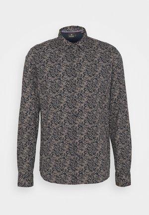 CLASSIC ALL-OVER PRINTED SHIRT REGULAR FIT - Shirt - dark blue