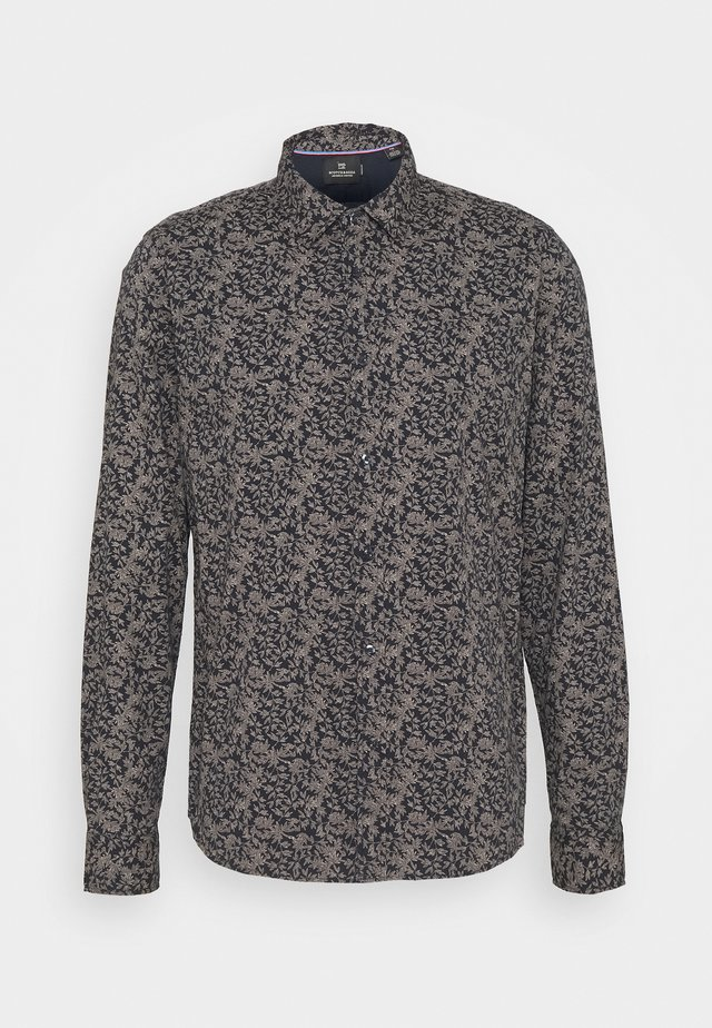 CLASSIC ALL-OVER PRINTED SHIRT REGULAR FIT - Camicia - dark blue