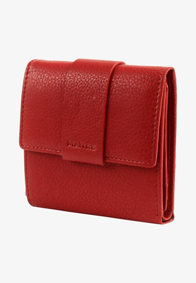 MAITRE - Wallet - red