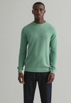 C NECK - Maglione - grün