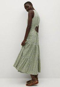 Mango - MAFALDA - Vestido informal - verde pastel - 5