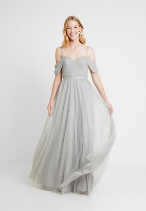 BARDOT - Společenské šaty - silver mist