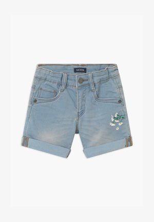 SMALL GIRLS DAISY - Denim shorts - jeansblau