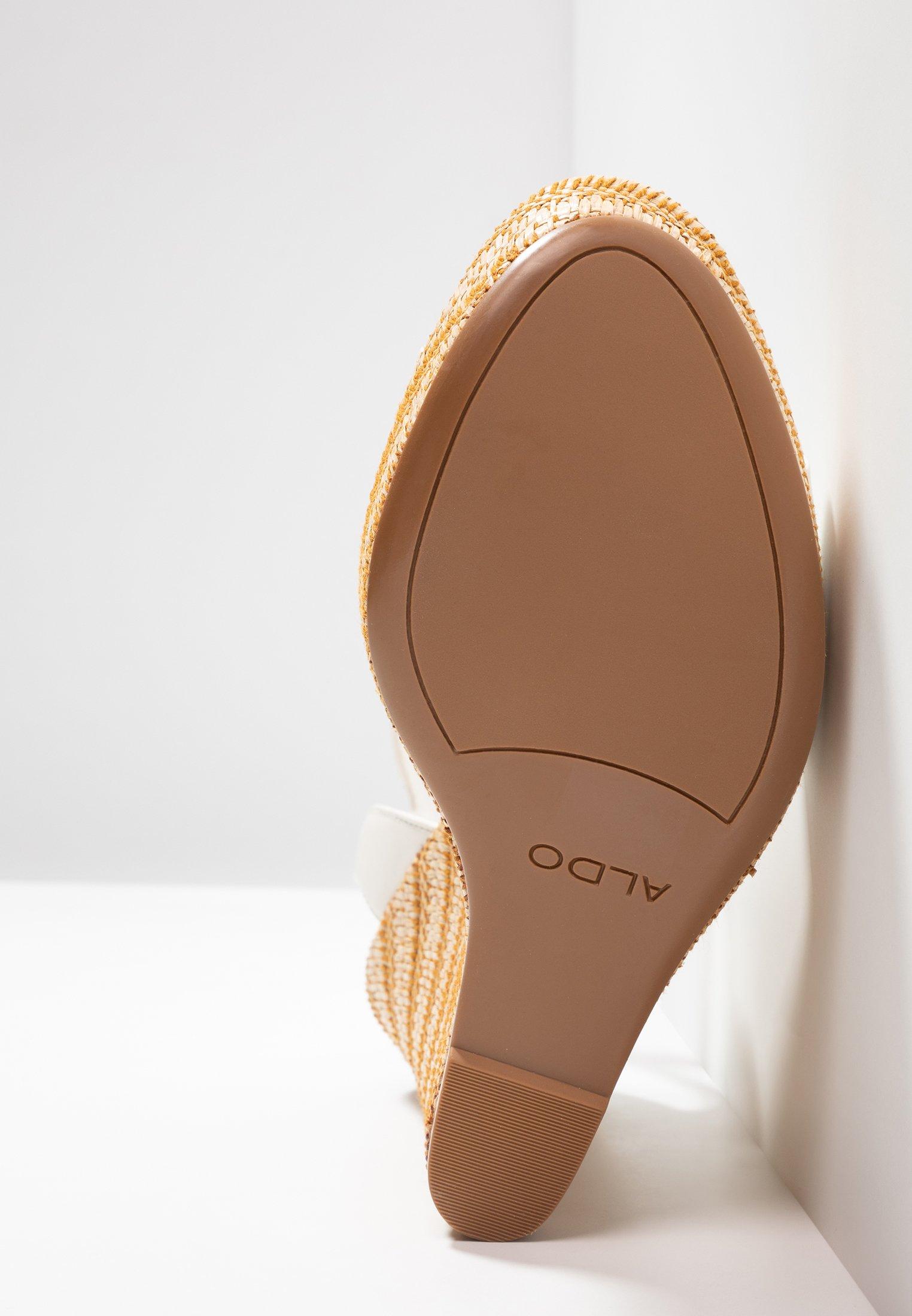 ALDO CILMACLYA - Sandaler med høye hæler - white