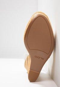 ALDO - CILMACLYA - High heeled sandals - white - 6