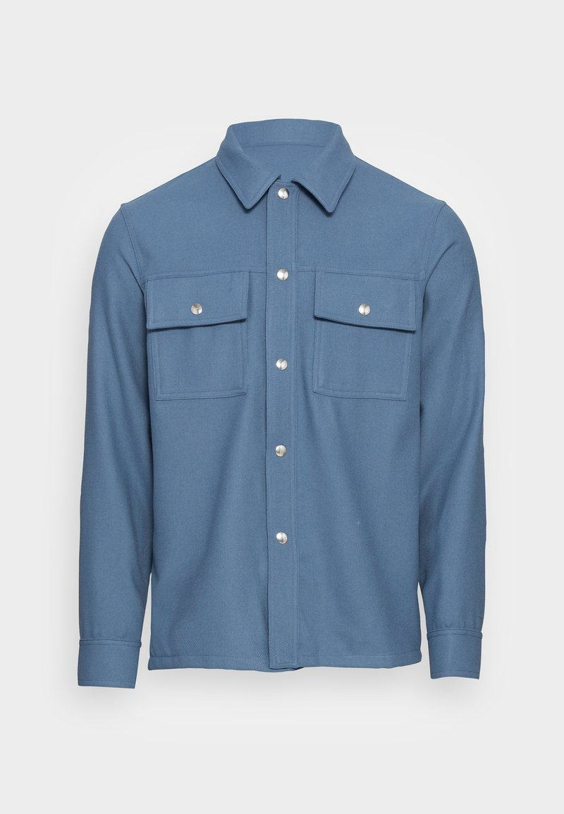 sandro - OVERSHIRT - Shirt - gris bleuté