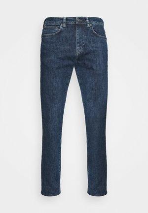 TAPERED - Straight leg jeans - blue denim