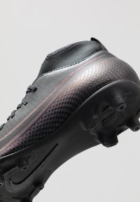 Nike Performance - MERCURIAL 7 CLUB FG/MG - Moulded stud football boots - black - 2