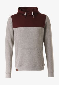 Lakeville Mountain - Hoodie - red/grey - 4