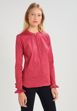 MATTIE - Button-down blouse - cherry