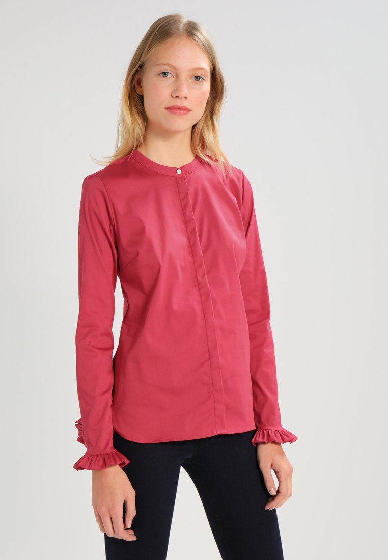 Mos Mosh - MATTIE - Button-down blouse - cherry