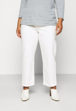 RIBCAGE STRAIGHT ANK - Relaxed fit jeans - cloud over