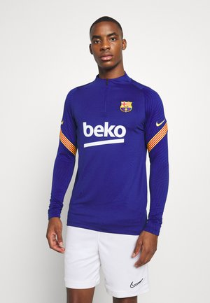 FC BARCELONA DRY  - Club wear - deep royal blue/amarillo