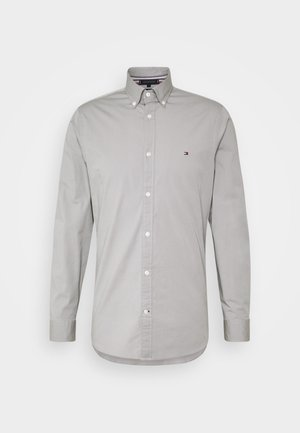 SLIM STRETCH - Shirt - grey