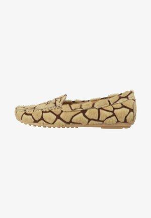 Slip-ons - giraf sand