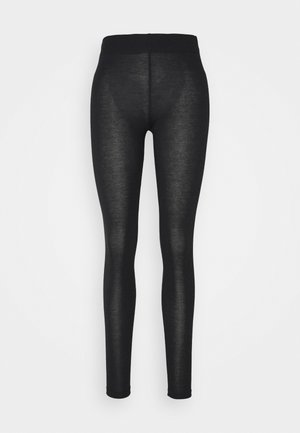 KARREN - Leggings - Trousers - charcoal brown melange