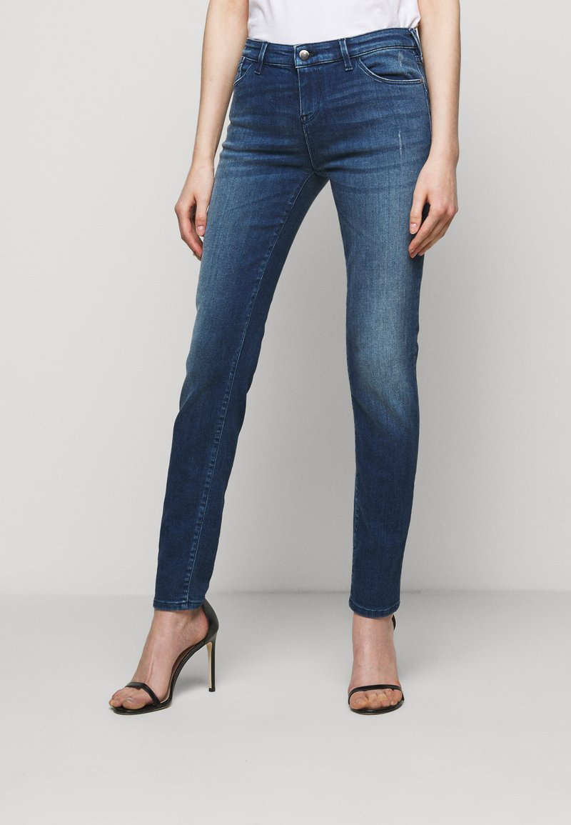 Emporio Armani - Jeans Skinny Fit - blue denim