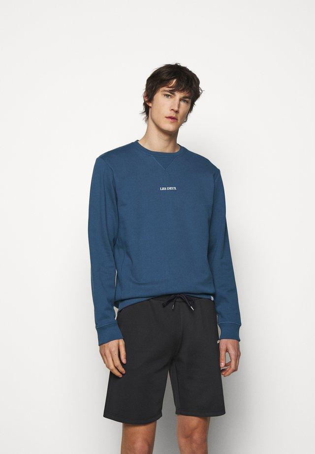 LENS - Sweater - denim blue/white