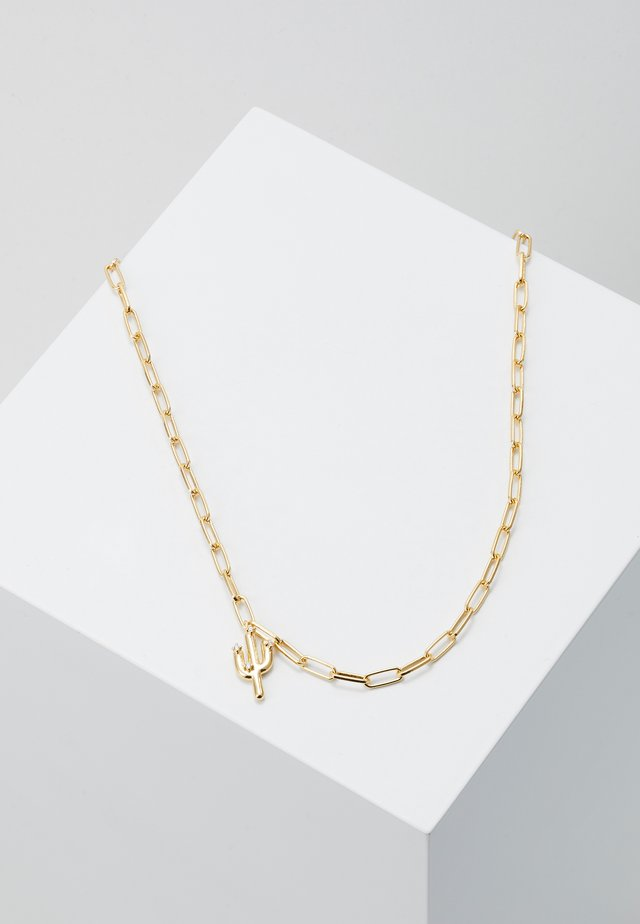 WEST NECKLACE - Halskette - gold-coloured