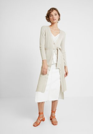 LONG CARDIGAN - Chaqueta de punto - yellows