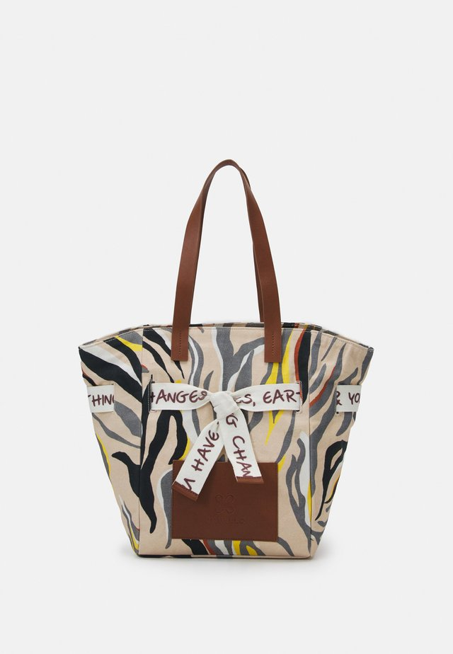 TIGER HIGH - Handbag - beige