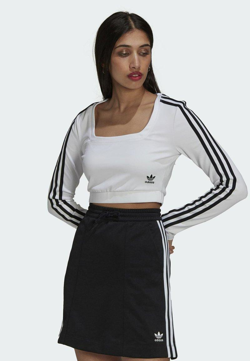 adidas Originals - LONG SLEEVE - Longsleeve - white