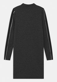 New Look 915 Generation - ZIP STRIPE - Jersey dress - grey - 1