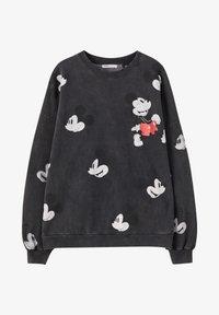 "PULL&BEAR - SWEATSHIRT ""MICKY MAUS"" MIT ALL-OVER PRINT 05596364 - Sweatshirt - mottled dark grey - 5"