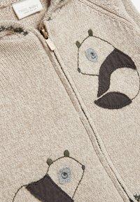 Next - PANDA ZIP  - Vest - off-white - 2