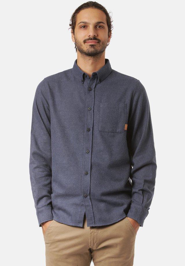 Overhemd - navy mel