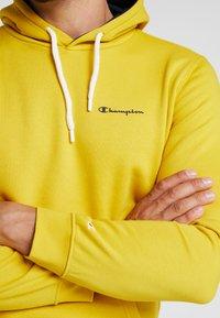Champion - HOODED - Huppari - mustard yellow - 5