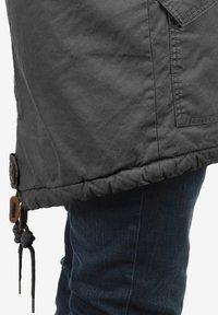 Solid - WINTERJACKE CLARKI TEDDY - Winter coat - dark grey - 5