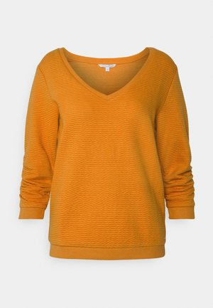 Strikpullover /Striktrøjer - orange yellow