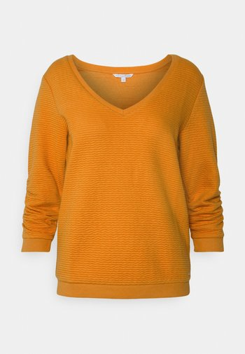 Jersey de punto - orange yellow