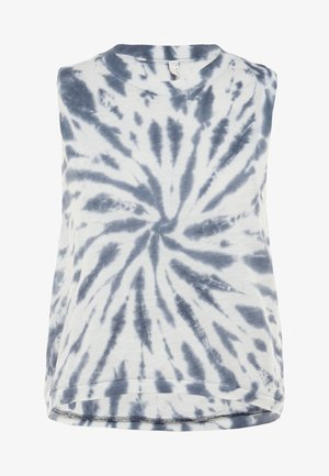 FP MOVEMENT LOVE TANK TIE DYE - Topper - blue/white