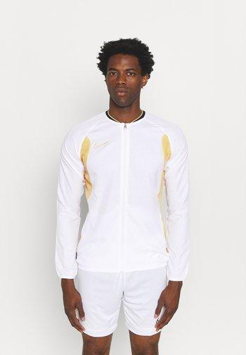 DRY  - Veste de survêtement - white/saturn gold