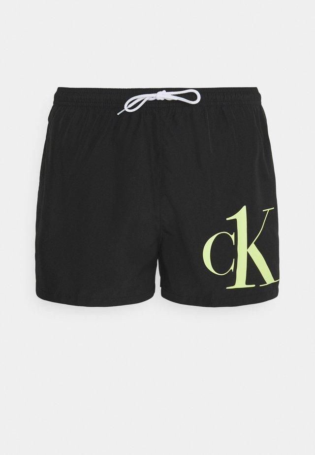 DRAWSTRING - Shorts da mare - black