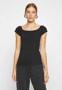 Calvin Klein - BARDOT PRIDE - Print T-shirt - black - 0
