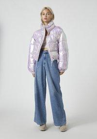 PULL&BEAR - Winter jacket - mauve - 1