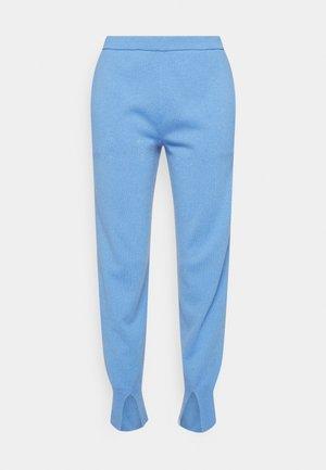 SLIT JOGGER - Pantalon classique - light azure